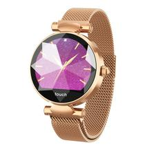 Fashion lady B80 smart watch color screen Bluetooth heart rate sphygmomanometer step physiological monitoring WeChat movement