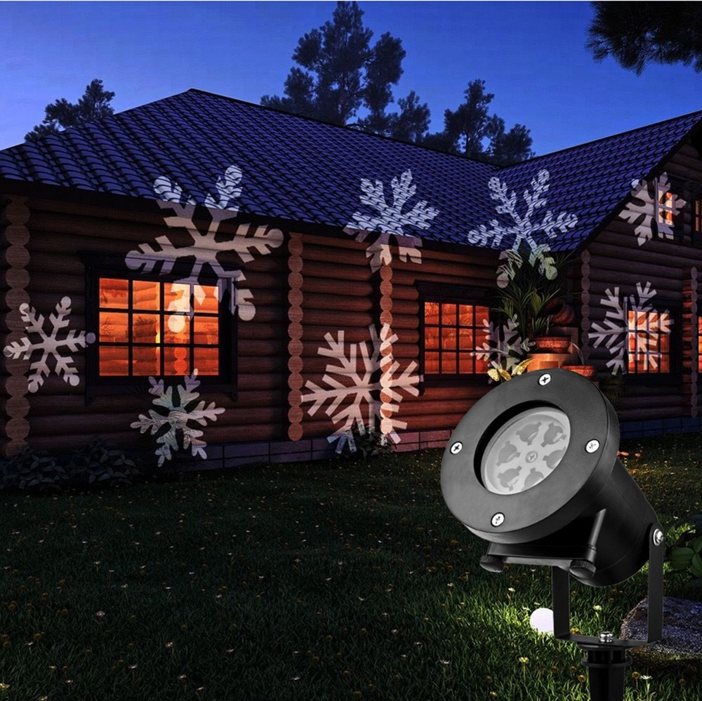 Mini Christmas Laser Snowman Projector Outdoor Waterproof LED Moving Landscape Lamp Decorations Party Atmosphere Disco Lights цены онлайн