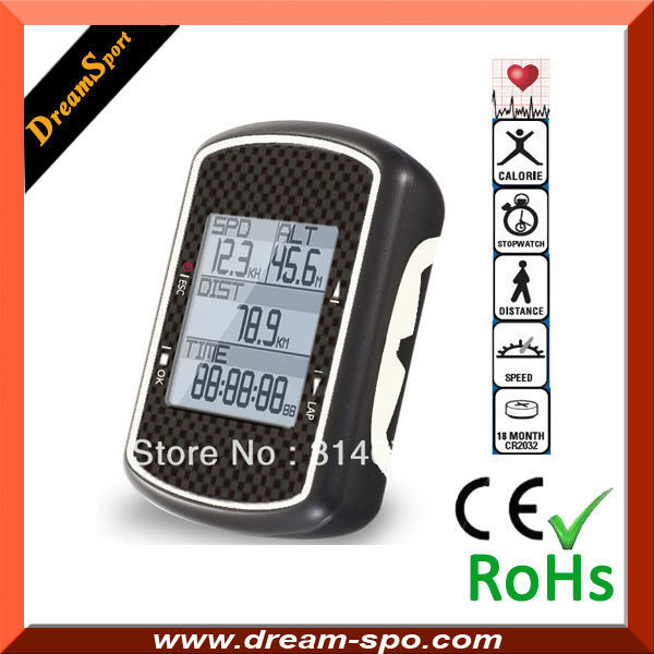 2013 professional cycle computer with heart rate monitor, gps bicycle speedometer, good price