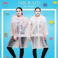 Adult raincoat fashion conjoined Eva outdoors travel raincoat