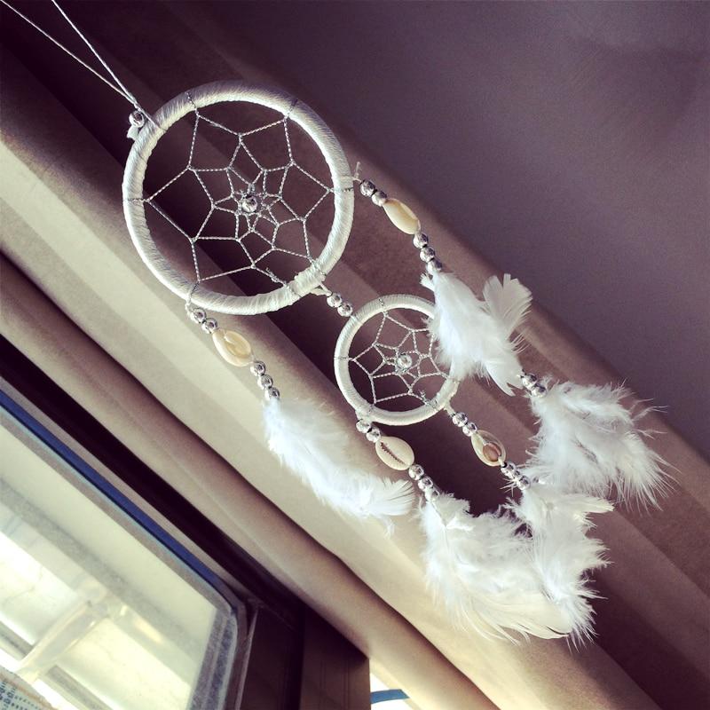 12ks / lot Vintage Dream Catcher Feather Dream Catcher Car Hangings Doprava zdarma