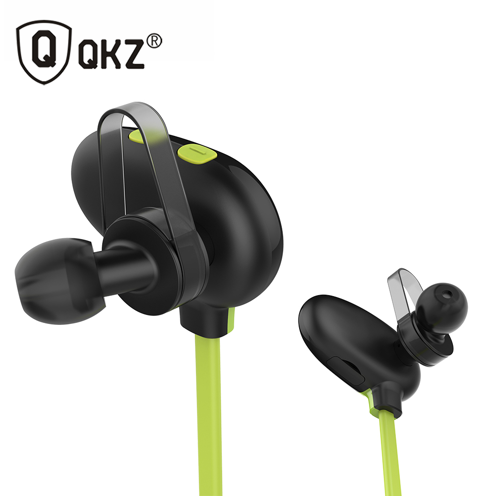 Earphones QKZ QG9 Wireless Bluetooth Headset Waterproof In-Ear Noise Cancelling Bluetooth Earphone for Smartphone fone de ouvido hot sale ttlife noise cancelling headphones fone de ouvido bluetooth 4 1 headset portable bass stereo gaming earphone for gamer