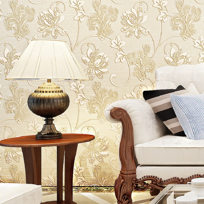 Popular Self Adhesive Wallpaper Romantic flower Leaves & butterfly wallpapers decorative papel de parede pure paper roll 5 Meter mc7812 induction tobacco moisture meter cotton paper building soil fibre materials moisture meter