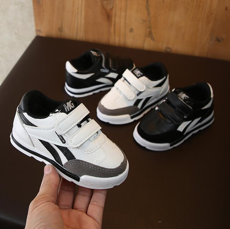 Kids Sports Shoes Fashion Spring Children Shoes Flat Boys Girls Sneaker Breathable Soft Baby Boy Girl Sneakers Size 21 30|Sneakers| |  - title=