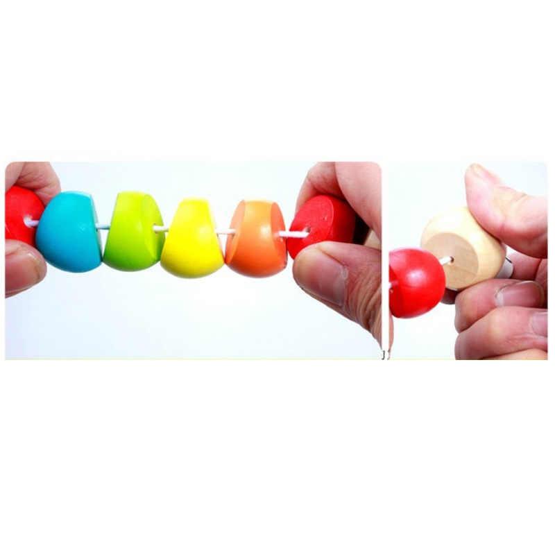 ไม้ Caterpillar ของเล่นปริศนาเด็ก Magical แมลงเด็ก Variety Twist - สีของเล่นเพื่อการศึกษาเด็ก Twisting Worm ของเล่น