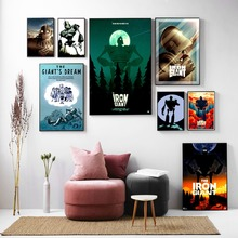 Iron Giant Movie Figure Artwork Wall Art Canvas Painting Poster For Home Decor Posters And Prints Unframed Decorative Pictures