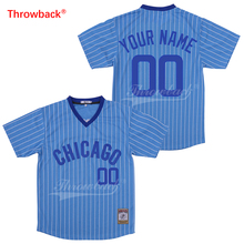 34675d7ef Throwback Chicago Baseball Jersey Mens Womens Kids Customized Any Number  Shirt S-XXXL