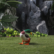 Garden Decorative Duck Poultry Animals Hunting Decoy Items Lifelike Feather Duck Poultry Animals