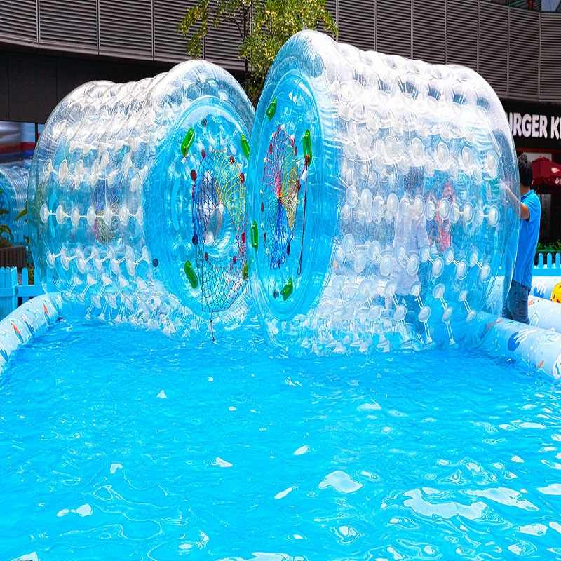Water Roller Ball 2.4*2.2*1.7 M Size Water Toy Park, Lake,rviver, Water Roller Water Park Used