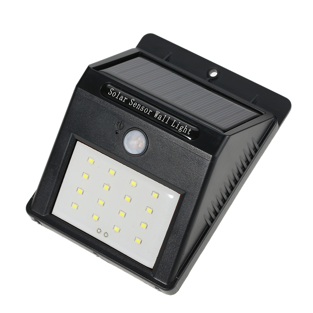 LED Solar Lamp PIR Human Motion Sensor Amp Light Sensor