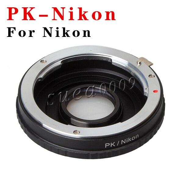 Оптическое Стекло Pentax PK К Объектив Nikon AI AF F Крепление Камеры Адаптер Infinity