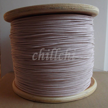 0.1x100 shares of mining machine antenna Litz wire multi strand copper wire polyester silk envelope envelope yarn 100m/lot