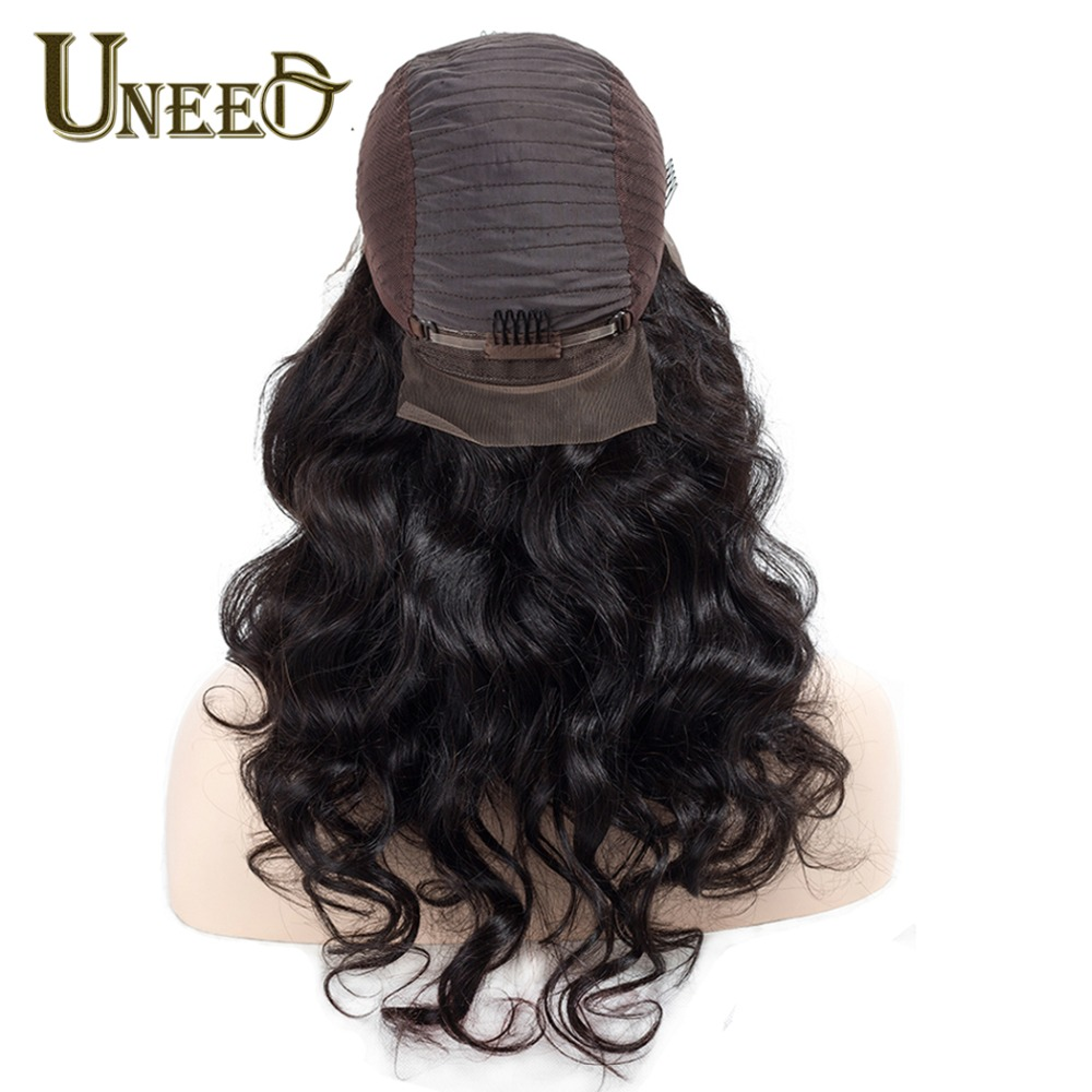 Brazilian Body Wave Lace Front Human Hair Wigs For Women 4X4 Remy Hair Wig With Baby