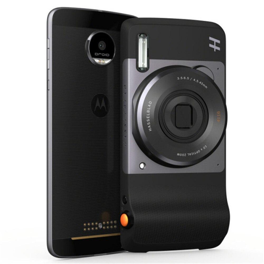 MOTO Hasselblad vrai Zoom Mods 12MP caméra facile à utiliser avec Support de Flash xénon Zoom optique pour MOTO Z2 FORCE/Z2 PLAY/Z3 - 5