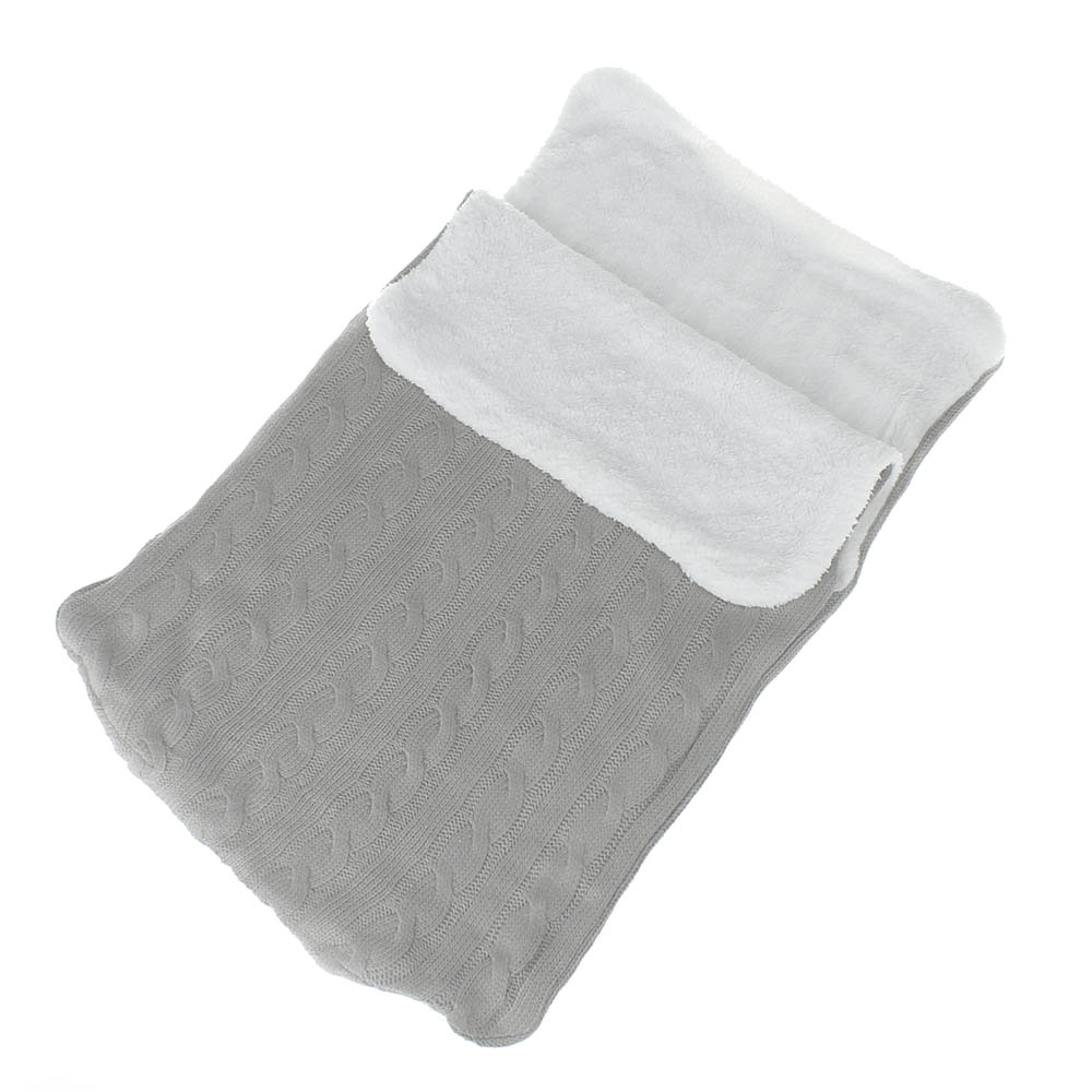 Hot Sale Thick Baby Swaddle Wrap Knit Newborn Sleeping Bag Warm Swaddling Blanket Sleep Sack