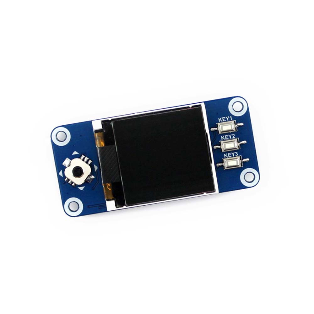 Купить с кэшбэком Waveshare 1.44inch LCD display HAT for Raspberry Pi 2B/3B/3B+/Zero/Zero W,128x128 pixels,SPI interface,ST7735S driver