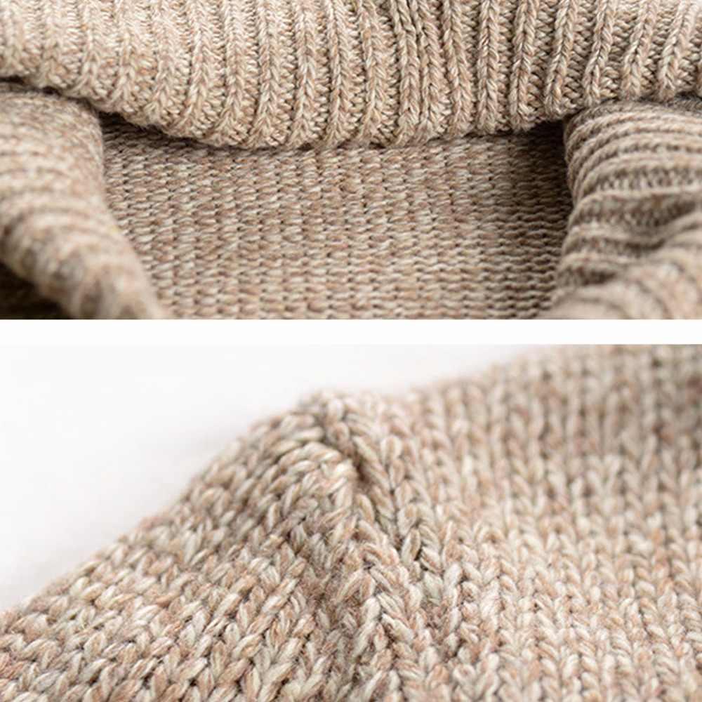 Cardigans para hombre primavera otoño suéter hombres ropa delgada camel gris ropa para hombre casual prendas de punto tops clásicos #18230 Holyrising