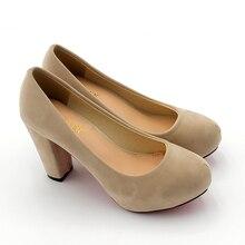 Fashion Wedding Pumps Sexy High Heel Shoes Brand Design Red Bottom Platform Pumps Hot Women Party Shoes Big Size