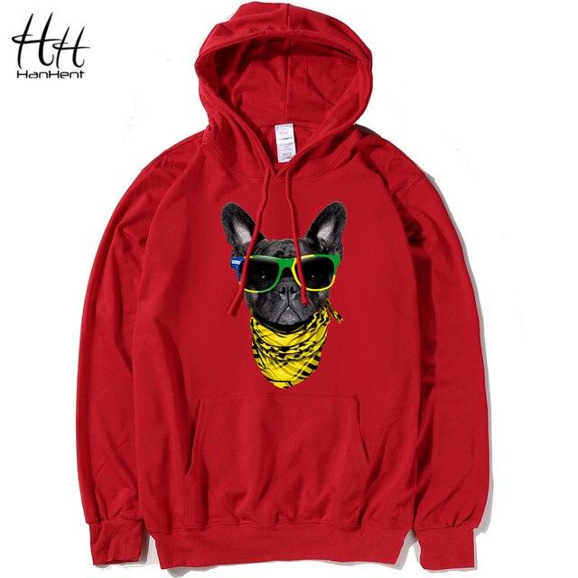 4802d921b HanHent vogue Dog 2016 Design Thin Hoodies Men Cheap Sweatshirts Tracksuit  Men Hood 4XL Fashion Camisa Cool Creative