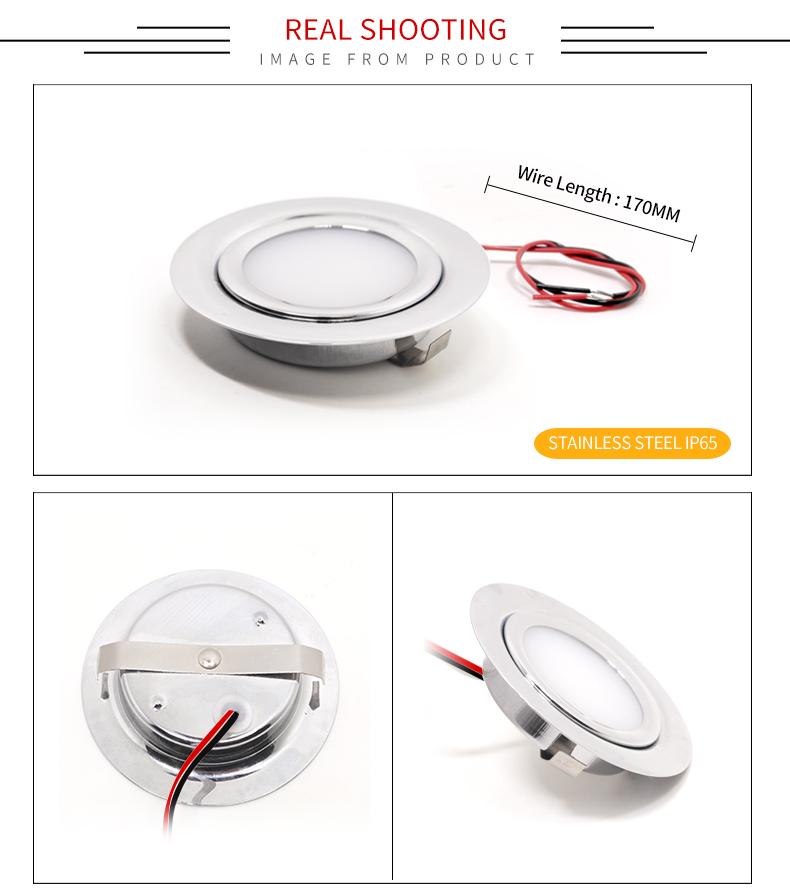 LED Mini Spotlight House Exterior IP65 A prueba de agua 3