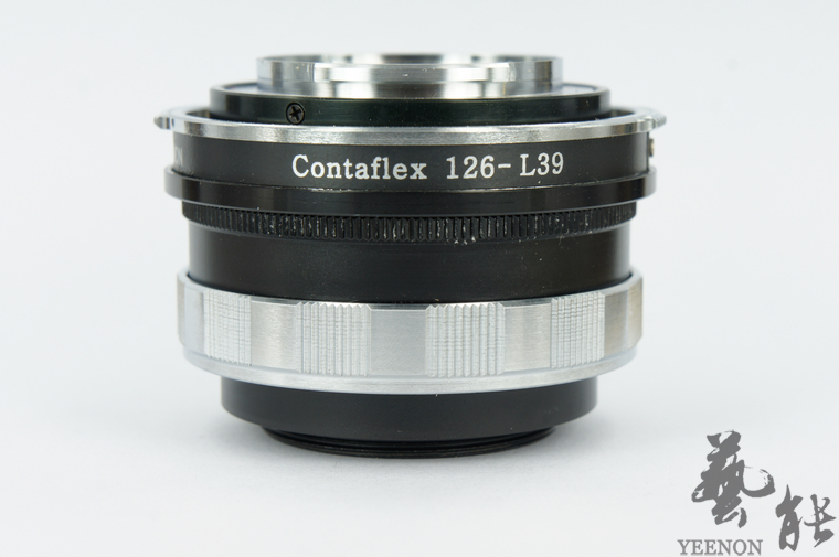 Zeiss Ikon Contaflex 126 lens to Leica screw mount L39 M39