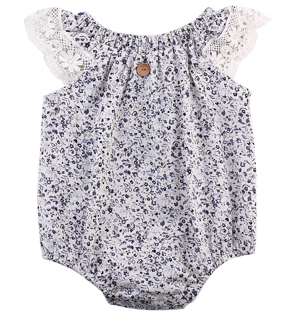 Baby girl Lace Hollow out Flower Bodysuit,Newborn Girls Floral Bodysuit Clothes,Babies Jumpsuit Playsuit Outfit clothing