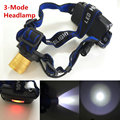 LED Headlight 1000 Lumens Cree XM-L Head Lamp High Power LED Headlamp By 2x18650 Battery With Charger+Car Charger