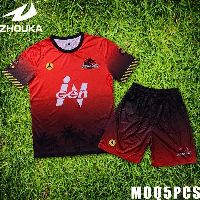 51ceb93a148c2 Criar sua própria camisa de futebol uniformes jérsei feito sob encomenda  tshirts projetar sua própria camisa