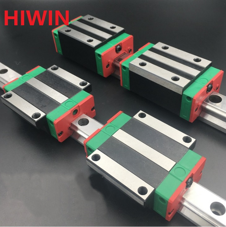 2pcs 100% original Hiwin linear guide HGR15 -L 1500mm + 2pcs HGH15CA and 2pcs HGW15CA/HGW15CC block for CNC 2pcs 100