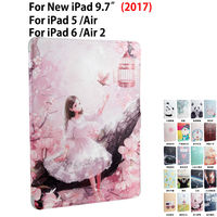 Tablet Funda Case For New IPad 9 7 2017 A1822 Cover For Ipad Air 1 2