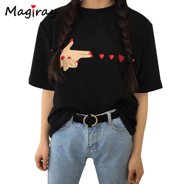 Black Full Sleeve T Shirt For Women