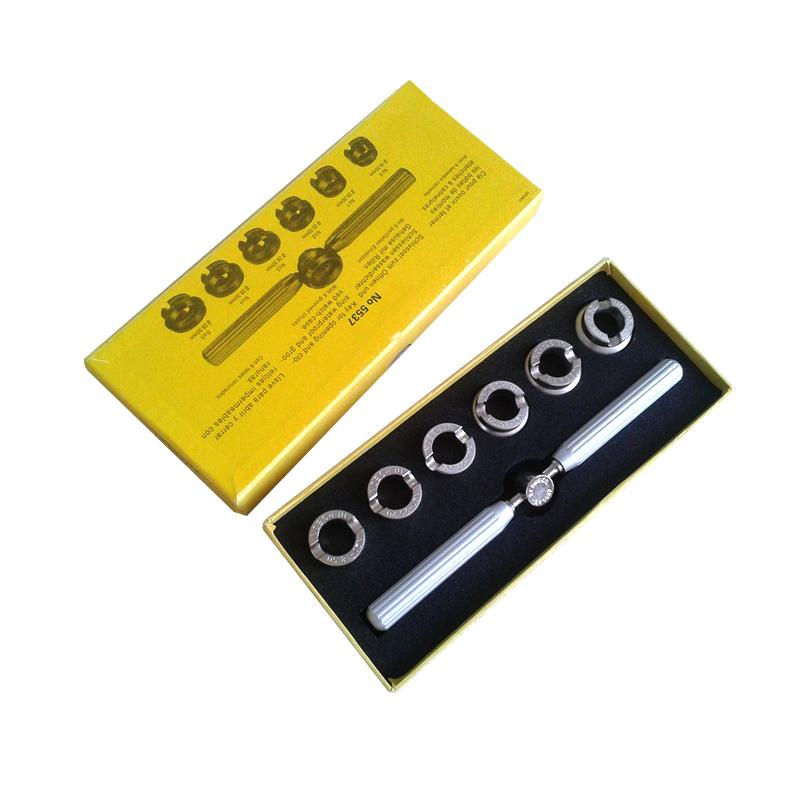 8489bc5ccdc No. 5537 18.5mm ~ 29.5mm Relógio Tamanho do Relógio Em Aço Inox ...