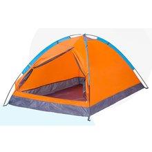 7509e3a59fc582 Super Leichte Wasserdichte Kinder 2 Person Zelte Outdoor Camping Wandern  170 t Polyester Tragbare Strand Zelt