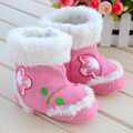 Free Shipping Baby Toddler Shoes Little Girl Baby Shoes Infant Winter Boots Prewalkers Soft Sole Enfant Boots First Walker