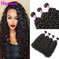 Brazilian Virgin Hair Water Wave In Human Hair Extension 4pcs Wet And Wavy Virgin Hair 100% Unprocessed Human Hair Weave Bundles