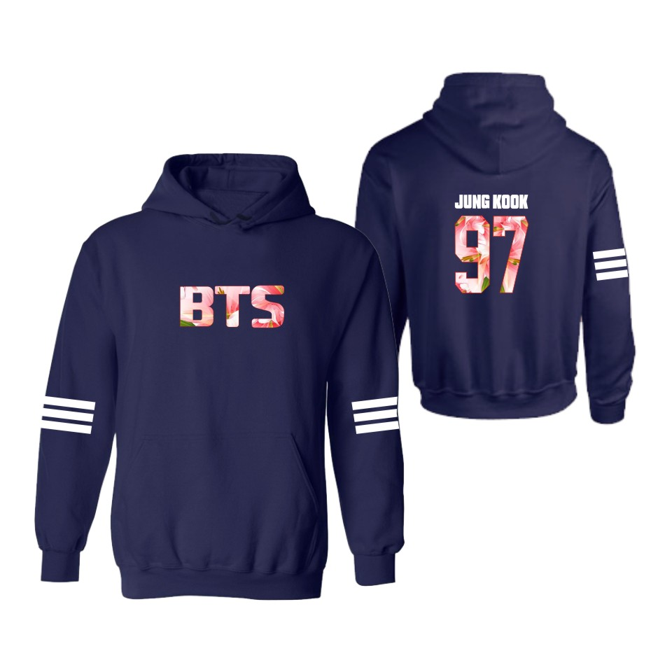 NEW Korean Design BTS Hooded Hoodies Sweatshirts Outerwear Hooded Ladies with Bangtan Boys Sweatshirt Women Brand 4xl