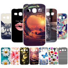 3D DIY Soft Silicone Case For Samsung Galaxy Core Plus Case Coque For Samsung G350 G3500 G3508 G3502U Cover Painted Case Fundas стоимость