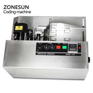 Image 5 - ZONESUN MY380 Ink Roll Coding Machine Card Code Printer Produce Date Printing Machine Solid Ink Continuous Printing Machine
