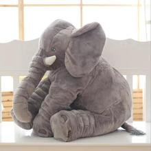 33/40/60cm Infant Plush Elephant Soft Doll Toys Appease Playmate Calm Baby Pillow Christmas Gifts