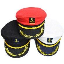 Adult Captain Costume Boat Yacht Party Role Play Skipper Sailor Caps Unosex Men Women Party Caps Fancy Dress Supplies 15