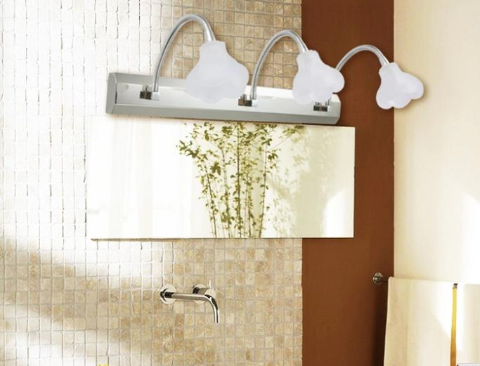 Crystal Bathroom Light Fixtures Stainless Steel Led Bath: Aliexpress.com : Buy Colorpai 6W Modern Bathroom Mirrors