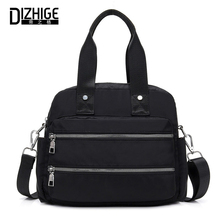 DIZHIGE Brand Luxury Waterproof Nylon Women Handbag High Quality Small Crossbody Bag For Women Large Capacity Shoulder Bags New wireless digital baby monitor 3 5 inch lcd screen two way audio video baby monitor night vision lullaby infant camera