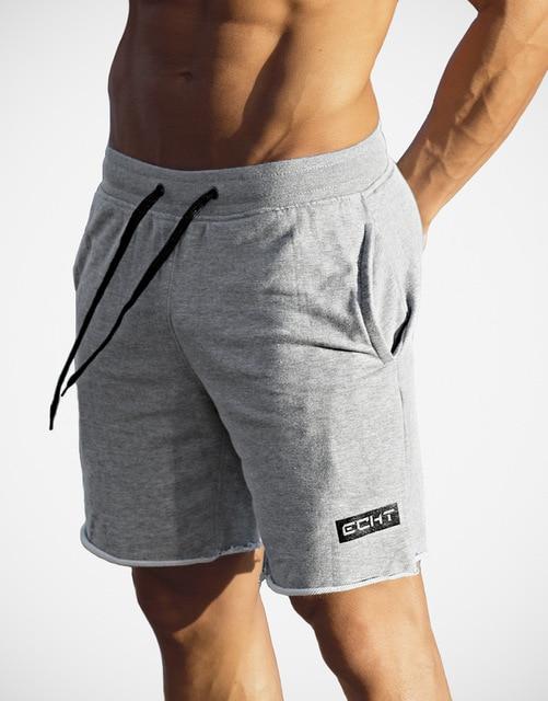 ba13f9b5b Nowe Spodenki Luźne spodnie Dresowe męskie Gym Szkolenia Treningu Fitness  Jogging Sport Szorty Kufry Mężczyzna Bawełniane