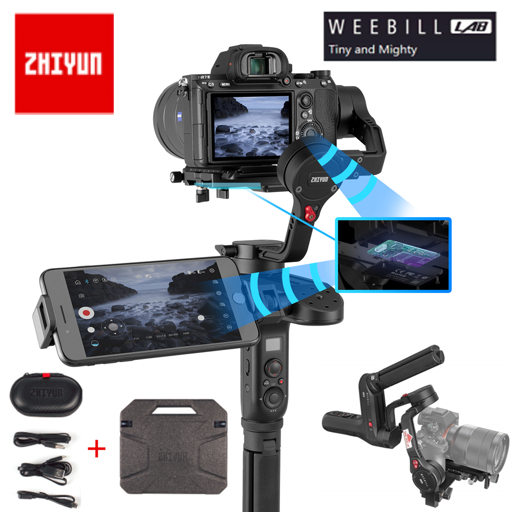 In Stock Zhiyun Weebill Lab 3-Axis Brushless Handheld Gimbal 3kgPayload Stabilizer for DSLR Mirrorless Camera Estabilizar Gimbal цена