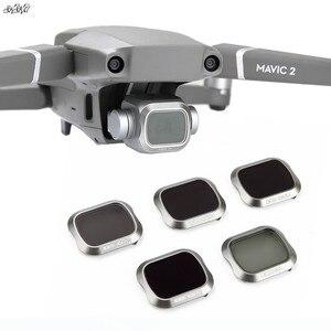 Image 1 - Mavic 2 فلتر ND PL ND4 ND8 ND16 ND32 مرشح CPL ل DJI Mavic 2 برو ملحقات طائرة بدون طيار