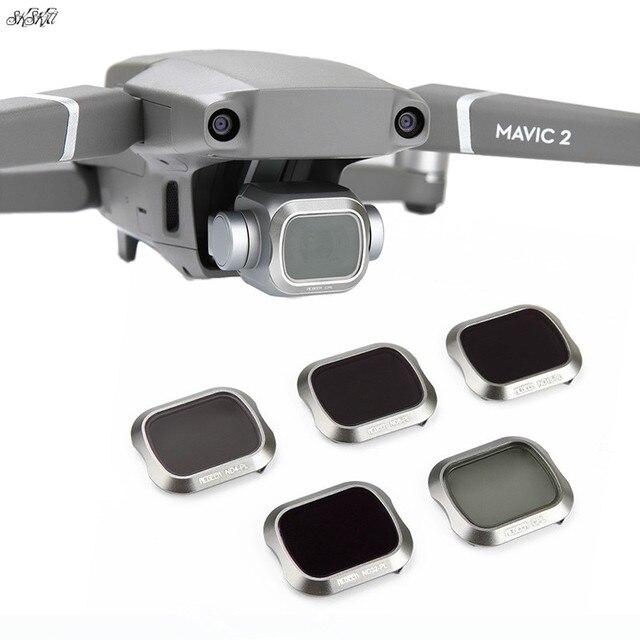 Mavic 2 فلتر ND PL ND4 ND8 ND16 ND32 مرشح CPL ل DJI Mavic 2 برو ملحقات طائرة بدون طيار