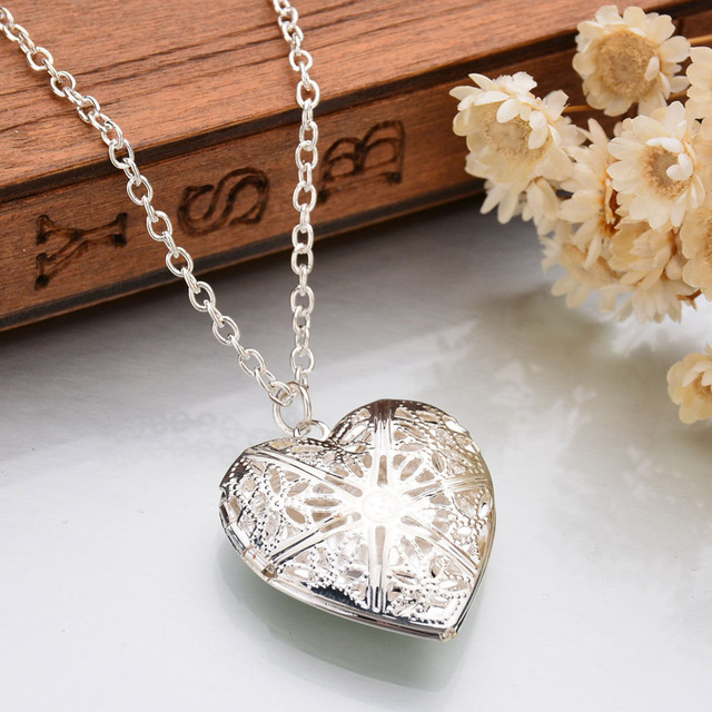 Heart Necklace Men Jewelry...