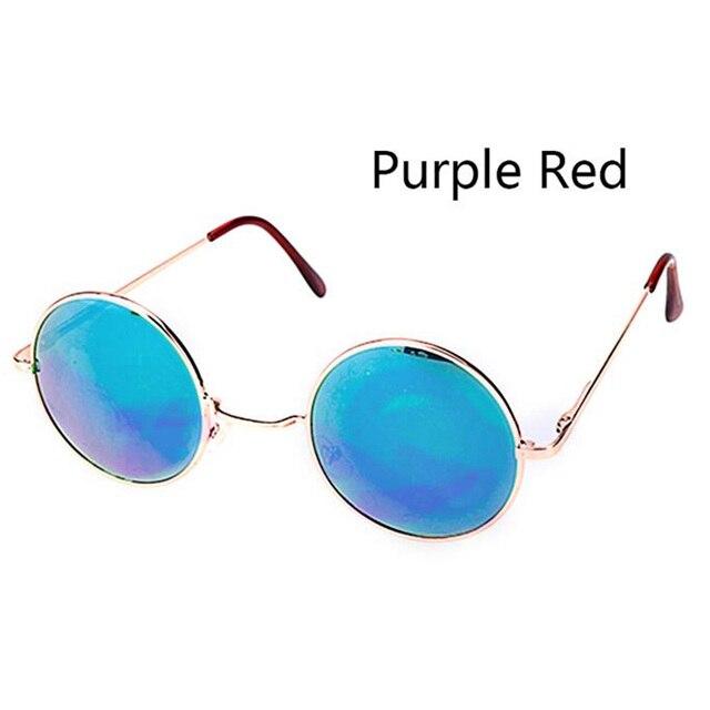 Moda Rodada Do Vintage óculos de Sol Para As Mulheres Homens Marca Designer  Espelhado Óculos Retro b96ccbb18d