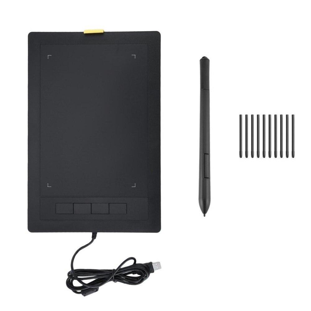 Nouvelle tablette graphique 2048 niveaux tablettes numériques dessin tablette LCD sans fil tableau d'écriture électronique - 2