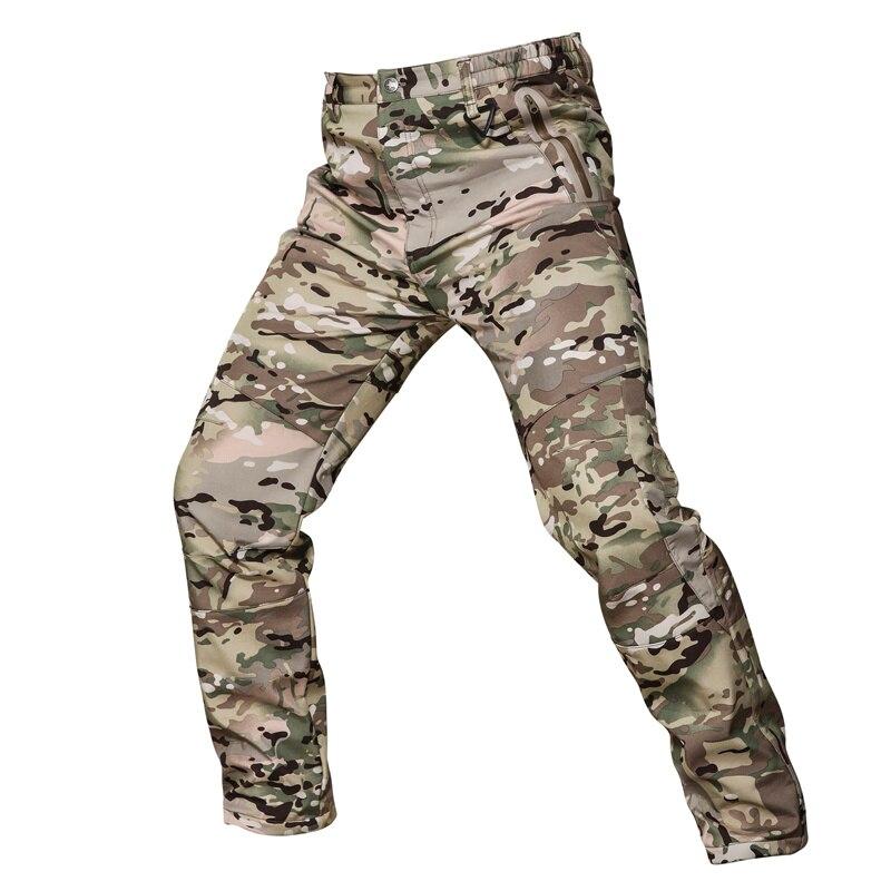 Pantalones cálidos de invierno para hombres Pantalones cargo Vellón - Ropa deportiva y accesorios - foto 5